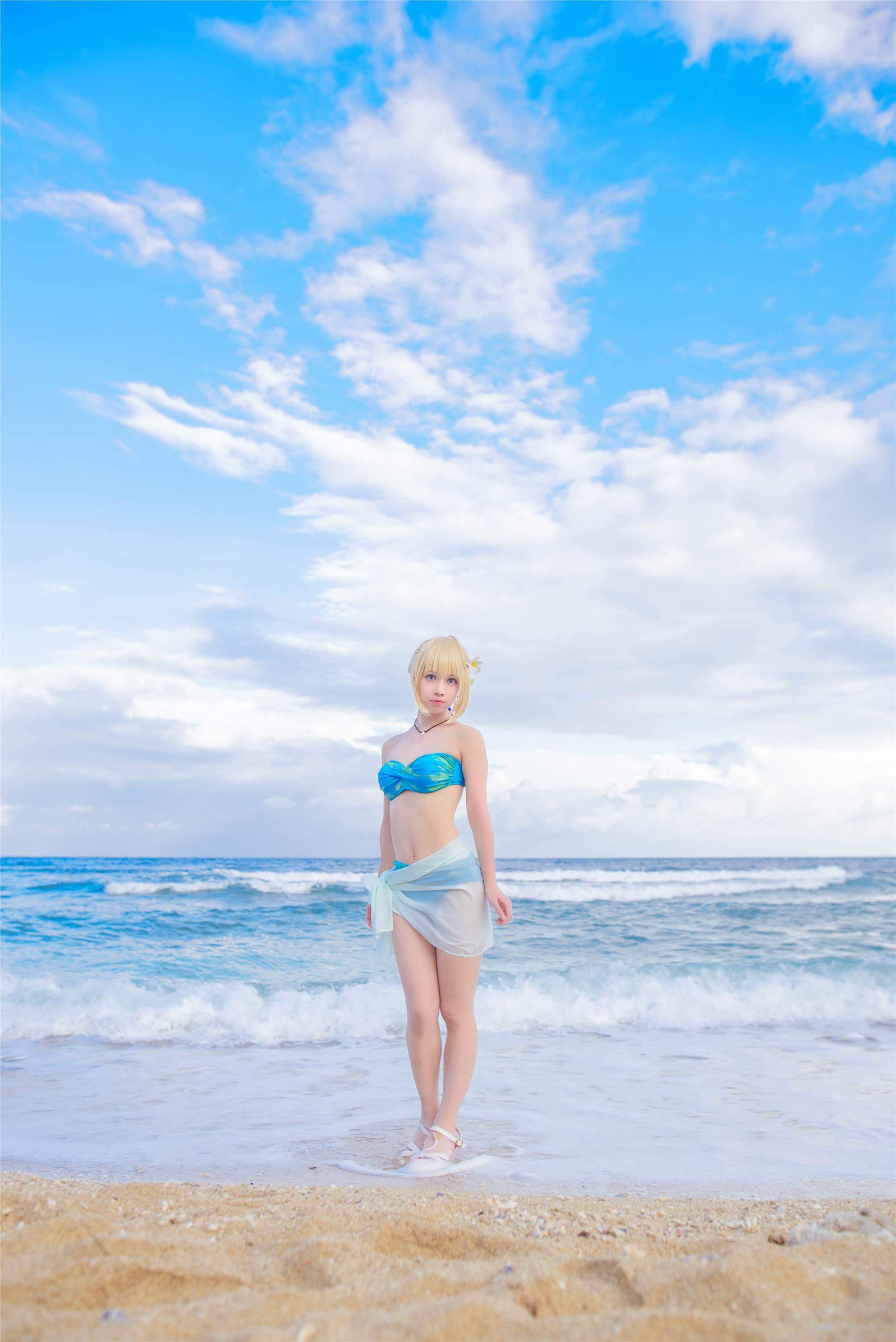 【领域少女】Cos泳装福利05-01