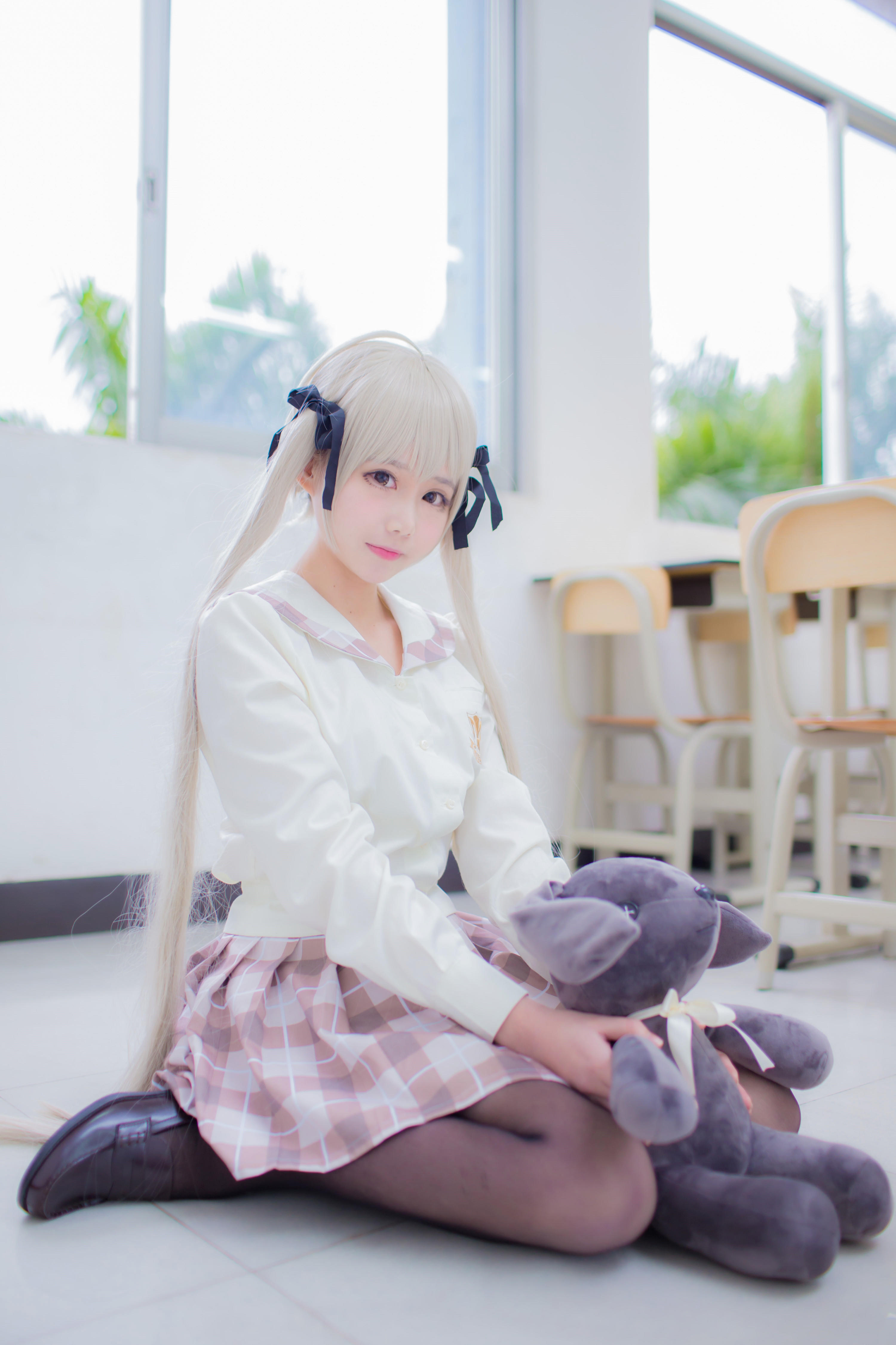 【Cosplay】缘之空 双马尾-小柚妹站