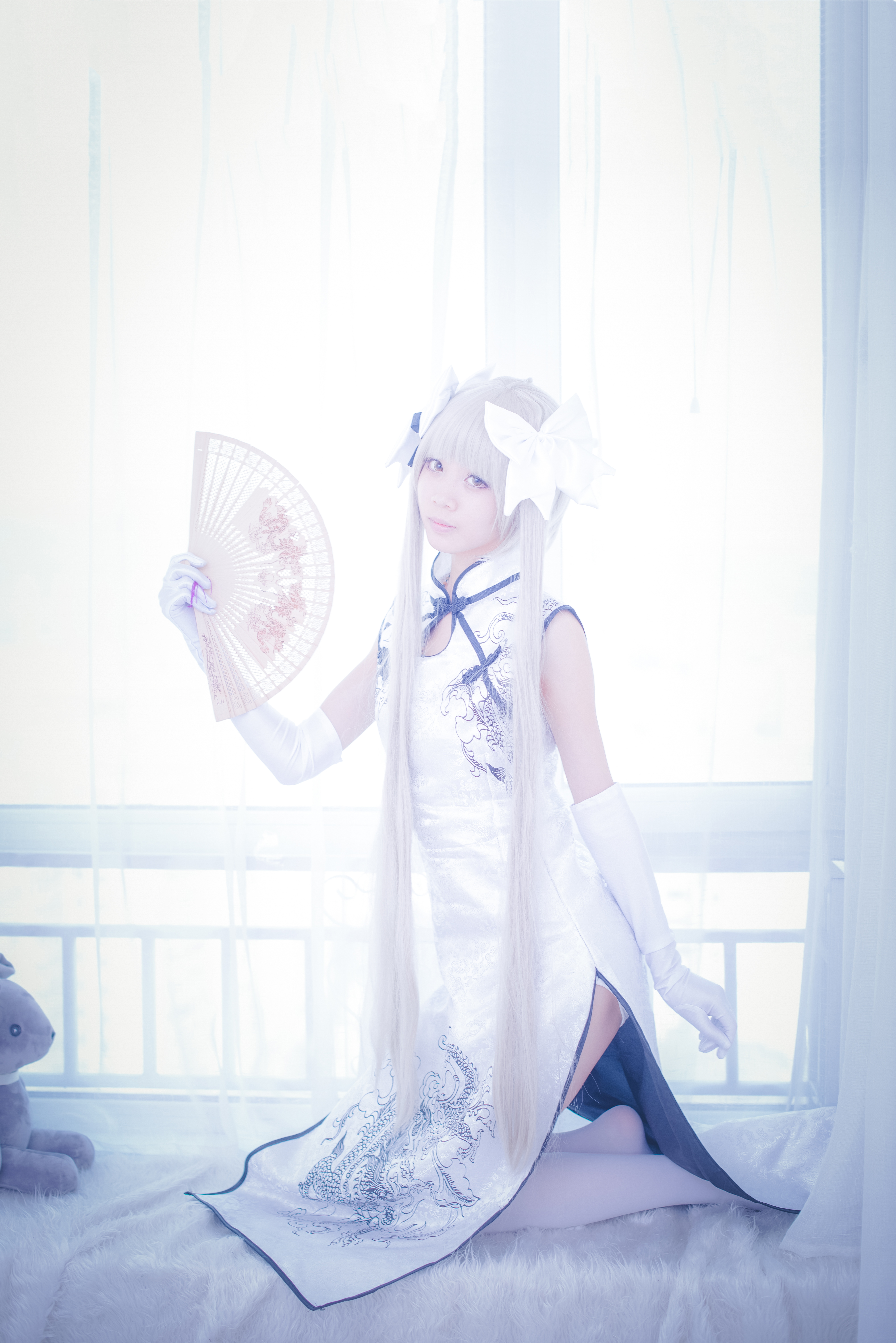【Cosplay】缘之空 黑穹