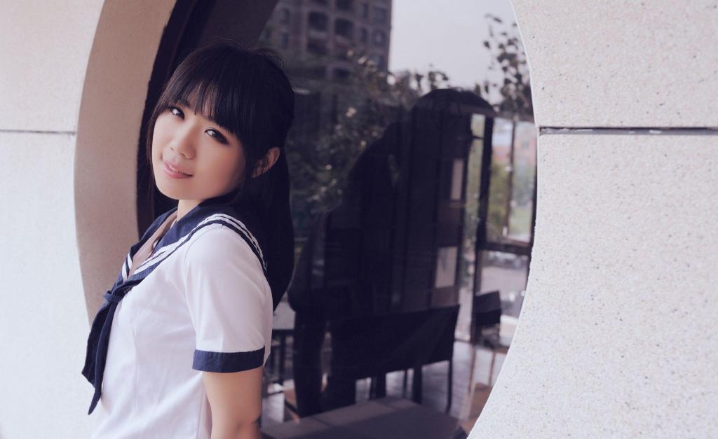 【女神】日系小清新2019-11-11-小柚妹站