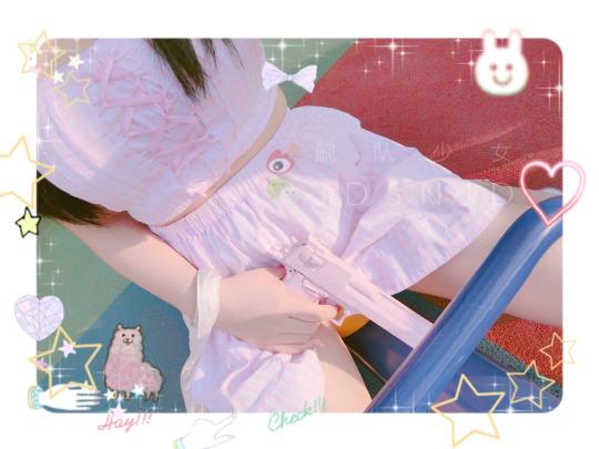 【领域少女】女孩黑丝袜图片2018-12-03