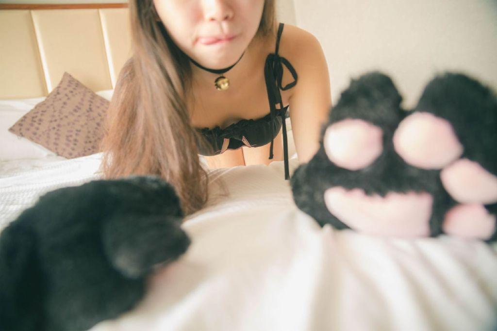 【领域少女】黑丝福利图片捆绑2020-02-17