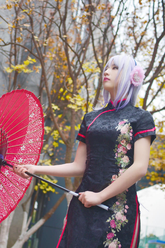 【Cosplay】VOCALOID – 旗袍-小柚妹站