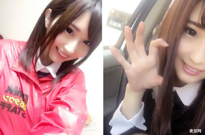 AV界脸蛋清秀的淫语天才素人若月玛丽亚(若月まりあ)